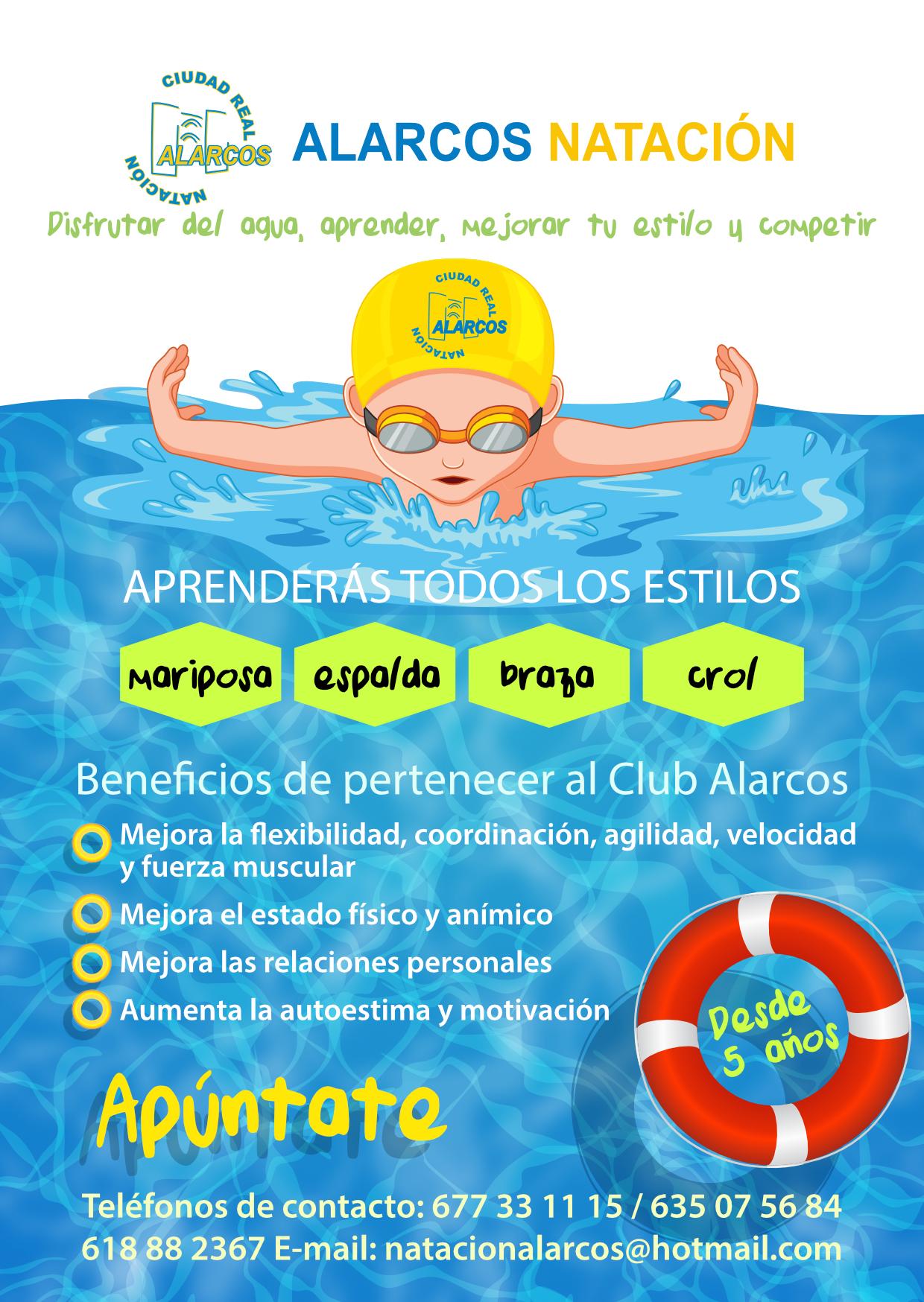 club natación alarcos