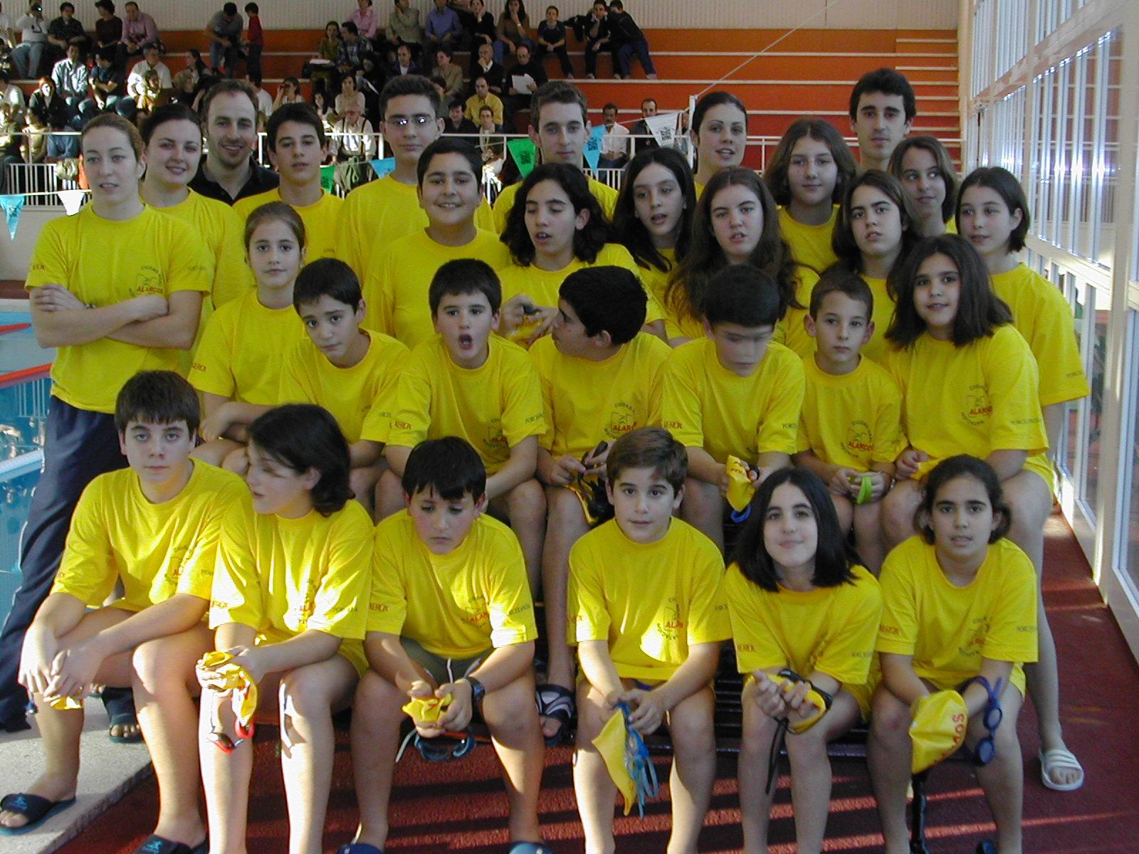 CN Alarcos 1º equipo benjamin y mayores