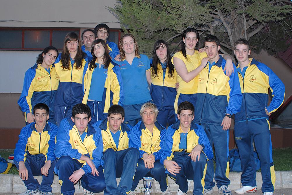 CN Alarcos CTO. REGIONAL ABSOLUTO INVIERNO; TOLEDO 2008