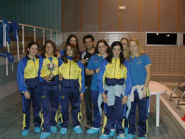 CN Alarcos I CTO TERR WATERPOLO 1er equipo femenino de waterpolo