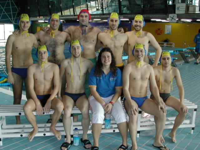 CN Alarcos equipo waterpolo masculino absoluto