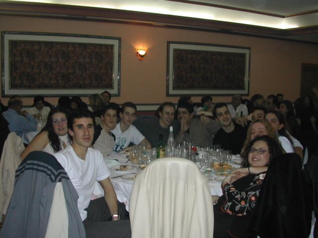 CN Alarcos 1ª cena de navidad