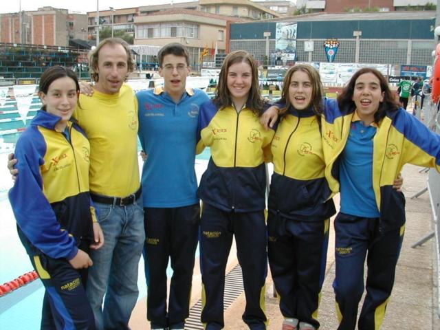 CN Alarcos 1ª medalla campeonato de España