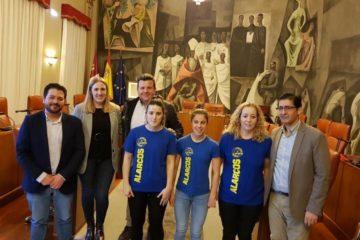 Firma del convenio con la Diputación de Ciudad Real